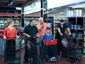 Luca on Guy's Grocery Games